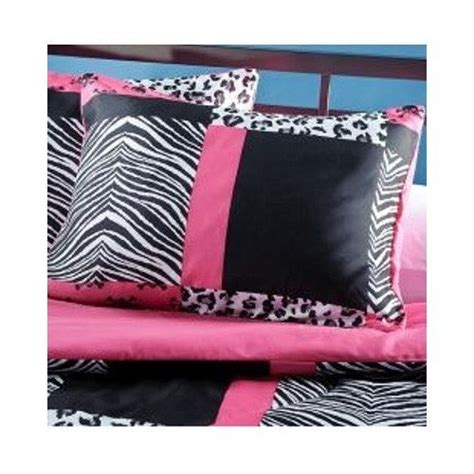 pink zebra comforter set full teen pink zebra bedding 4 piece pink black and white bed