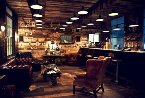 Interior Leather Bar Free by A Room Fit For Both A Gentleman And A Scholar Creating