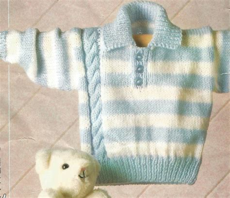 pattern baby jumper knitting pattern babies toddlers children s striped