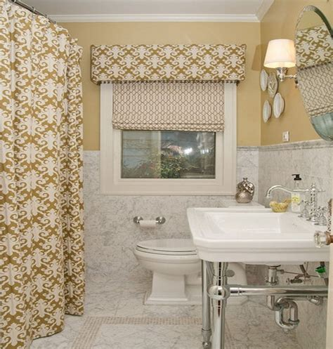 bathroom window treatments for woven shades and cafe