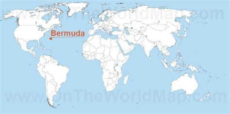 bermuda world map bermuda on the world map bermuda on the america map
