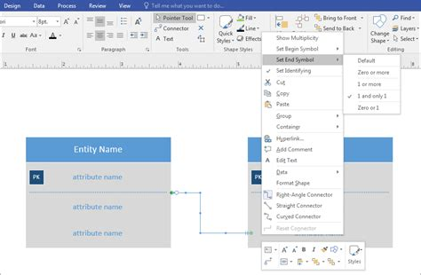 crows visio create s foot notation office support