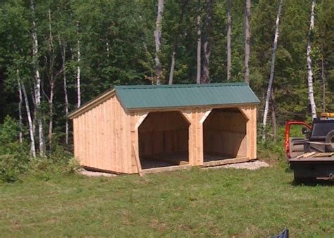 Run In Shed Kits by Stall Kits Prefab Run In Sheds Livestock Shelter