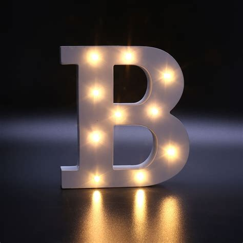 led lights for bedroom walls creative 26 letters led warm white light bedroom wall