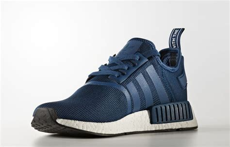 Sepatu Adidas Nmd R1 Mesh White Premium Quality adidas nmd r1 navy white fastsole