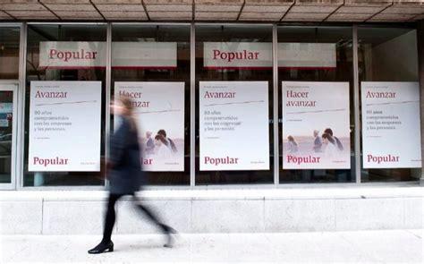 banco popular rating la agencia dbrs rebaja el rating de banco popular a bbb