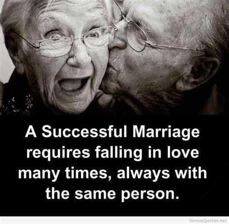 successful marriage quote with old couples image on imgfave