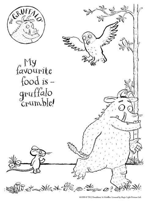 The Gruffalo Colouring Pages Pin By Francien Dijkstra On Kids Gruffalo Pinterest by The Gruffalo Colouring Pages