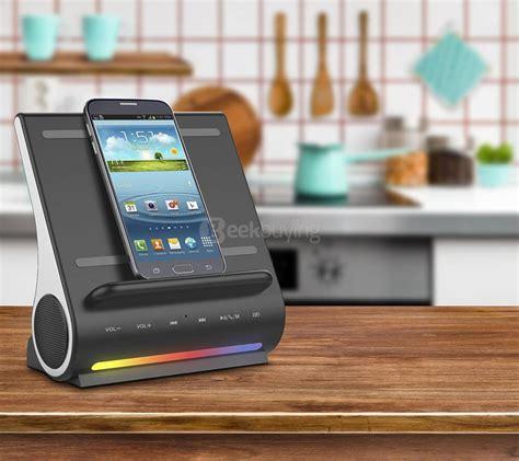 Win Some Coloured I Station Traveller Speakers by Azpen Dockall D 100 Wireless Charger Bluetooth Speaker