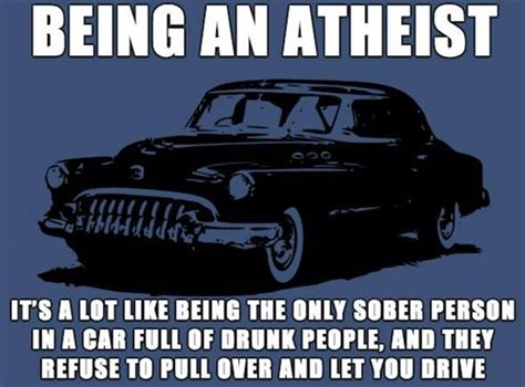 Atheist Meme - being and atheist godless mom