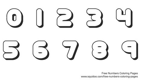 free printable coloring numbers 1 10 printable coloring numbers 1 10 printable free number