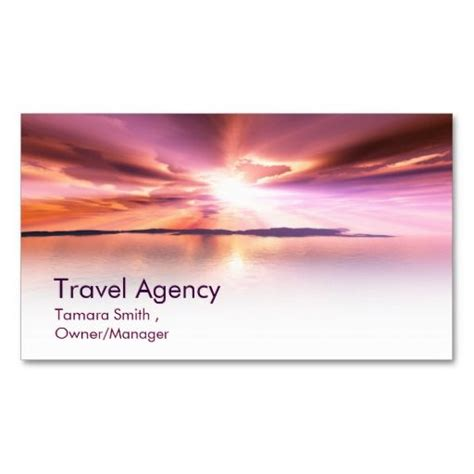 Travel Agency Business Cards Templates by 1000 Images About Professional Travel And Tourism