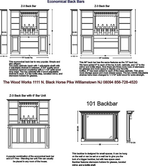Bar Layout Back Bar Designs For Your Home