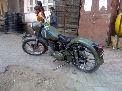 Bsa Bb31 1952 Model Ohv 350cc bsa b31 in kholapur team bhp