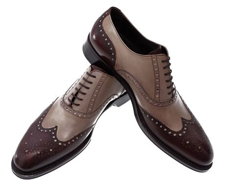 leather bicolor italian shoes treccani