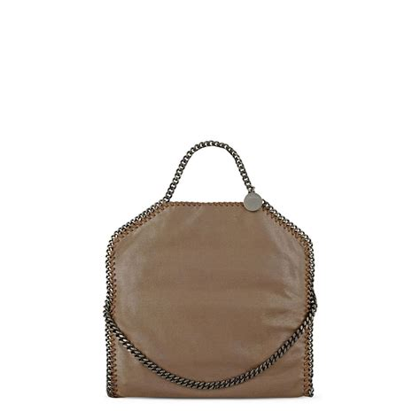Stella Mccartney Saddle Bag by Falabella Chamois Fold Tote Stella Mccartney