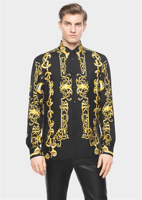 Versace Shirt versace silk mens shirt dsquared2 uk