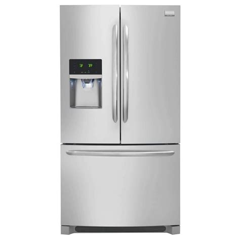 Water Dispenser With Refrigerator frigidaire gallery 23 cu ft counter depth door refrigerator with and water