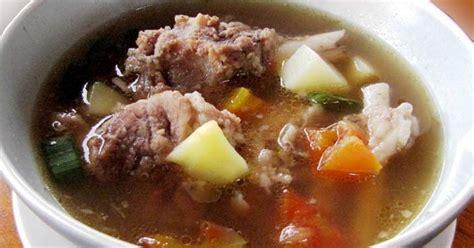 cara membuat sop buah hangat resep cara membuat sop iga aneka resep masakan sederhana