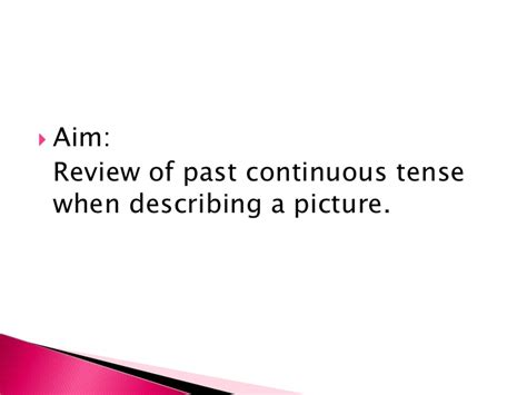 past tense of knit the past continuous tense