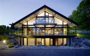 Energy Efficient Home Designs Design Haus Art 5 Green In Glas Und Holz Architektur Von