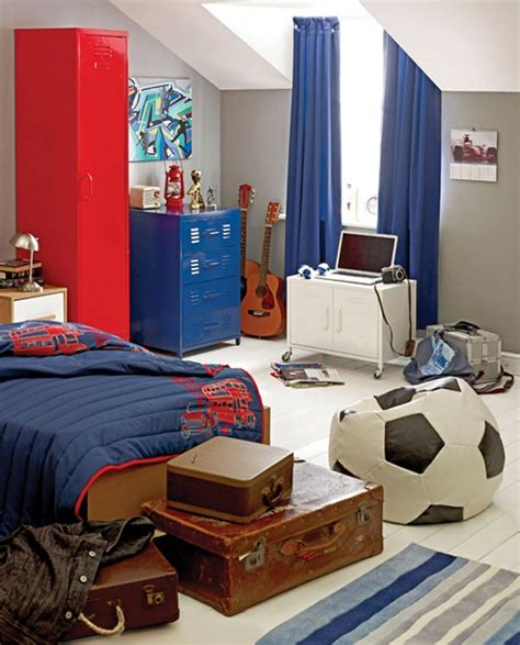 chair for boys bedroom boys bedroom agreeable image of red and blue sport theme