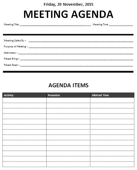 Template For Meeting Name Cards by Ms Word Meeting Minutes Template Office Templates