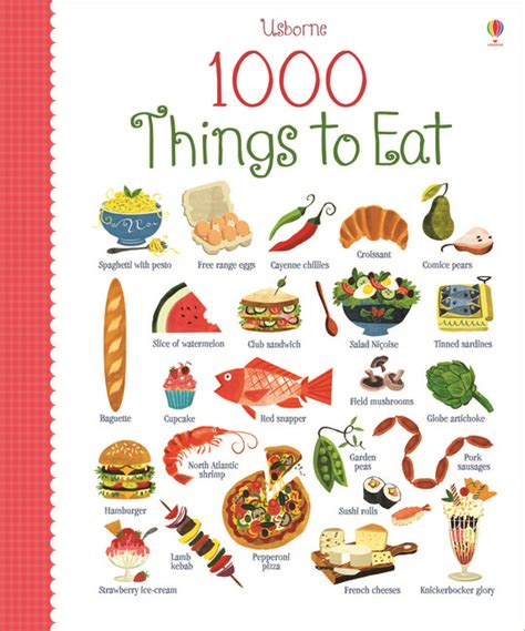 7 Things Really Eat by 1000 Things To Eat Wood Board Book