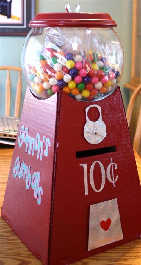 gumball machine valentines 29 adorable diy box ideas gumball machine
