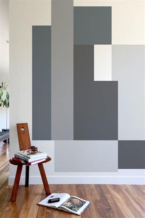 color block parallel bedroom wall designs creative wall
