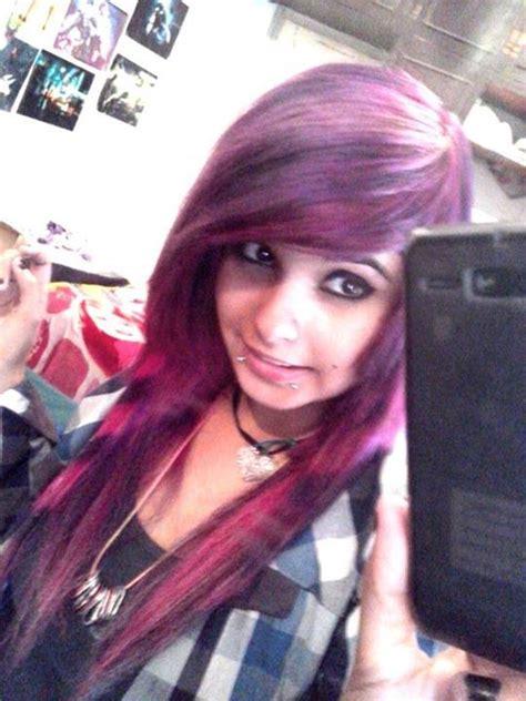 imagenes de mujeres emos hermosas imagui fotos de lizzy nyaan chicas con el pelo rosa o violeta