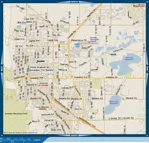 Map Of Boulder Colorado by Office Information