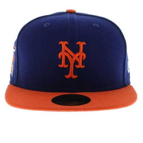 ny mets colors new york mets team colors the side patch 59fifty new era cap