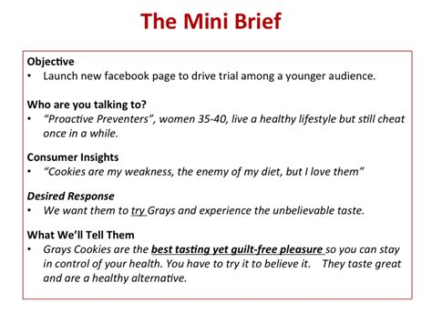 Written Briefformat How To Write A Mini Creative Brief Beloved Brands