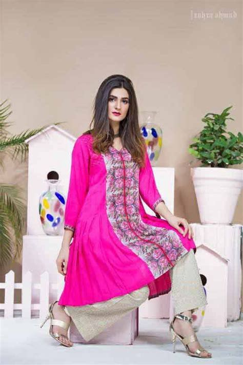 Zahra Umbrella shocking pink frock umbrella style design by zahra ahmad eid dresses for in