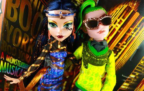 Deuce Gorgon Princess High 2 high boo york musical cleo and deuce 2 pack doll