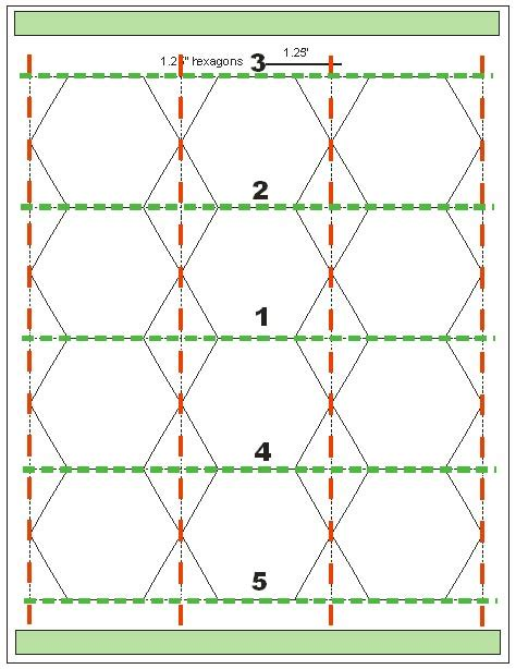 quilt hexagon template tips for cutting hexagon templates geta s quilting studio