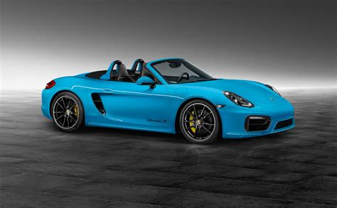 miami blue porsche boxster porsche boxster in riviera blue is as cool as a summer