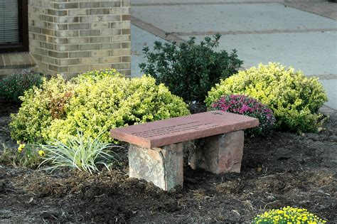 memorial garden benches texas memorial benches bergen designs