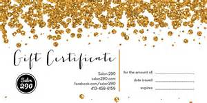 buy a gift certificate salon 290