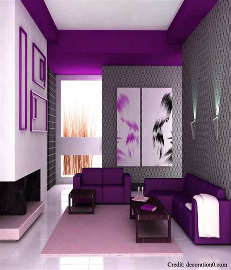 Purple Interior Design Best 25 Purple Interior Ideas On Plum Walls Purple Sofa Inspiration And Colors