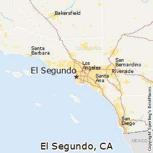 el segundo california map best places to live in el segundo california