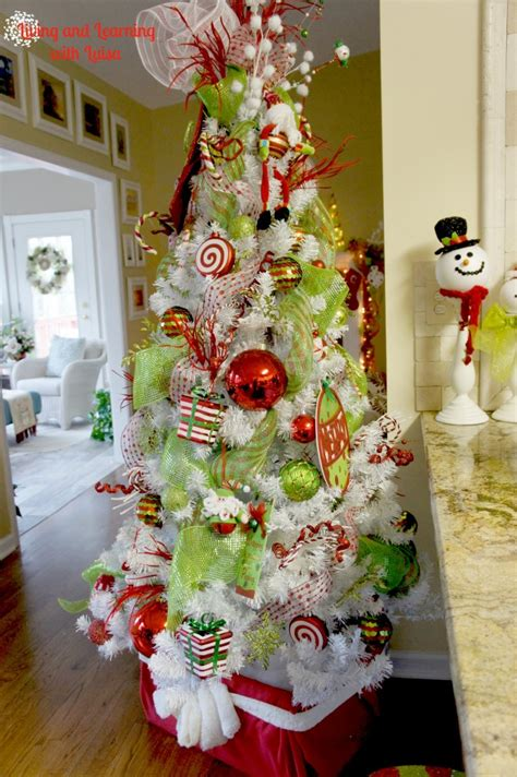 whimsical christmas tree love the colors and the topper