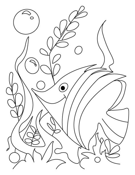 fish coloring book pages az coloring pages cute fish coloring pages az coloring pages