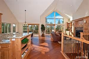 vaulted ceiling open floor plans vaulted ceilings open concept home plans house design
