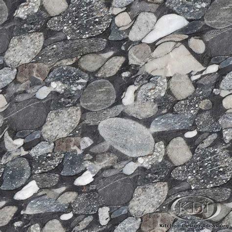 Stone Kitchen Backsplash Ideas by Black Mosaic Satin Granite Kitchen Countertop Ideas