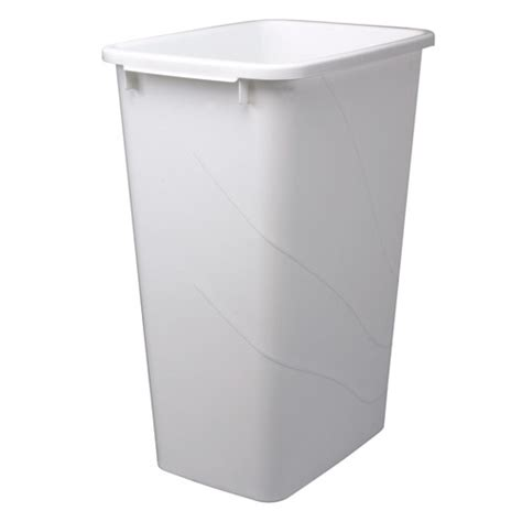 cabinet trash can replacement replacement trash bin 50 quart in kitchen trash cans