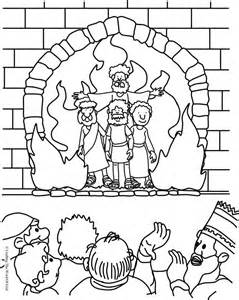 Fiery Furnace Coloring Page the fiery furnace coloring page 171 crafting the word of god