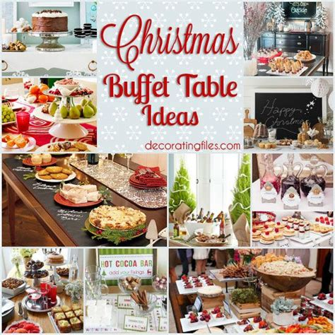 xmas office party dinner recipes buffet on