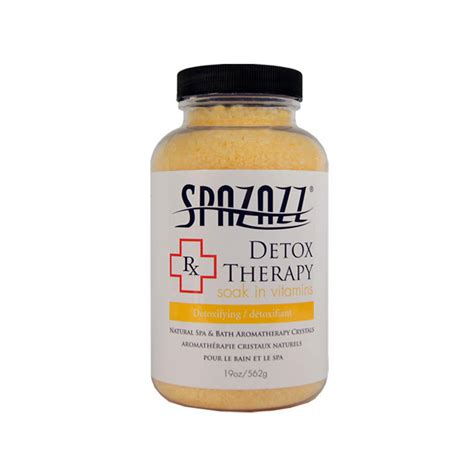 Vitamin C Therapy Detox by Spazazz Therapy Detox Soak In Vitamins 19 Oz Tubs